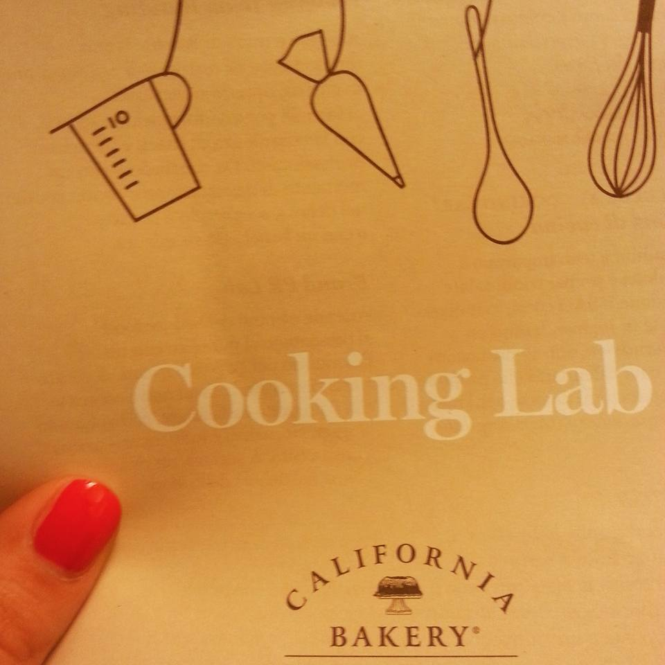 Cooking Lab con California Bakery!