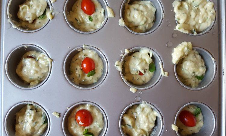 Muffin salati a basso indice glicemico