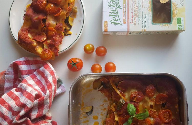 La lasagna anche a cena