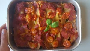 lasagna lenticchie gialle