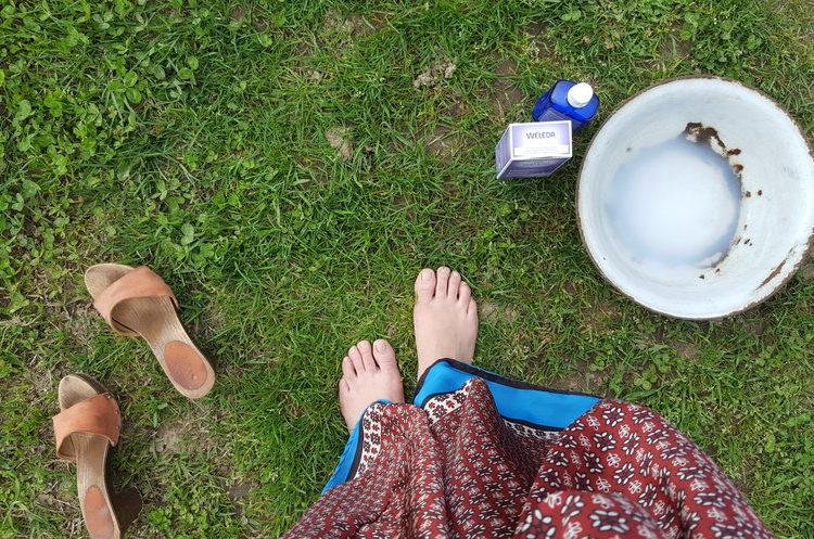 Il  rituale antistress che sa di lavanda
